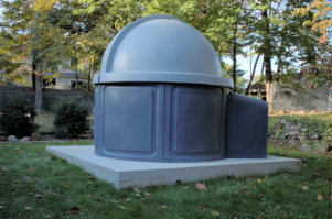 SkyShed POD Dome Closed